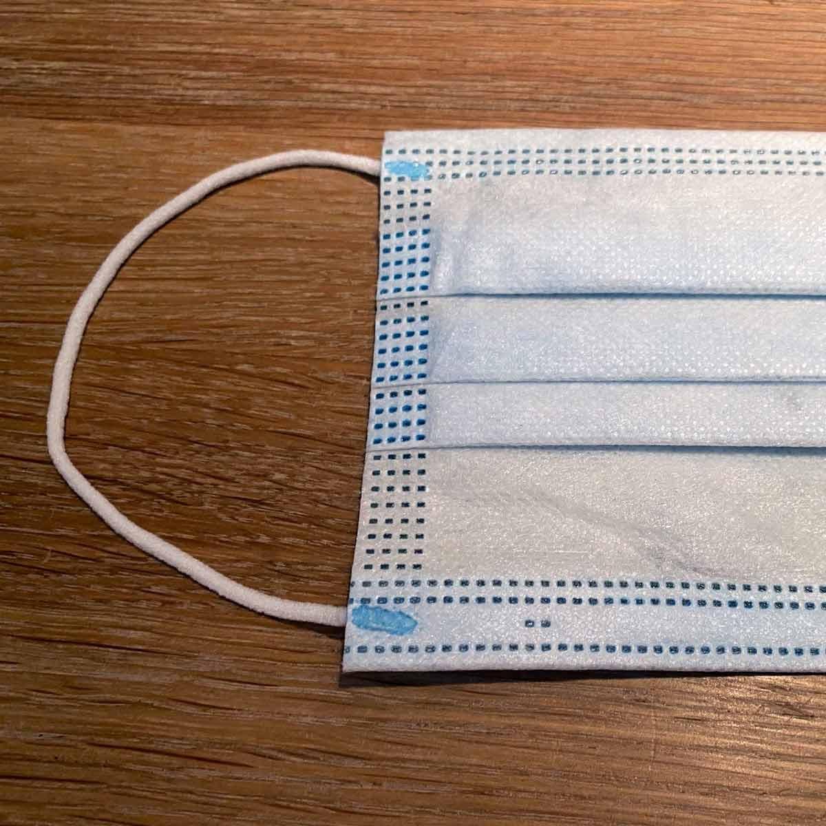 Mundschutzmasken aus 100% Polypropylen