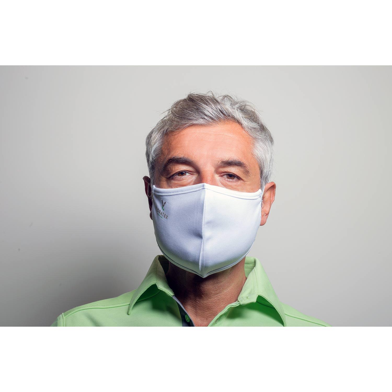 Gesichtsmaske aus 60% Bambus-Viskose und 40% Recycle Polyester, Herren