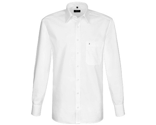 Weißes Business-Hemd der Marke Eterna