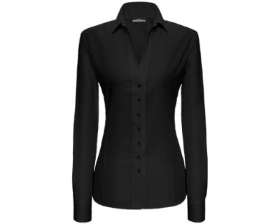 Eterna Business-Bluse in schwarz