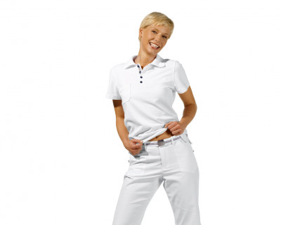 Damen-Kasackhose - weiß