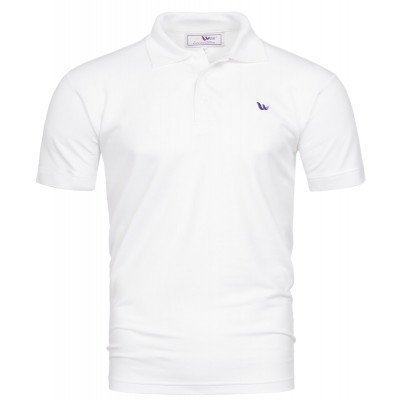 Visbatex Polo-Shirt Kurzarm – weiß