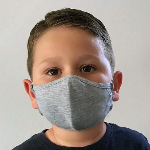 Kinder-Gesichtsmaske 6-10 Jahre aus 100% Baumwolle, 2-lagig