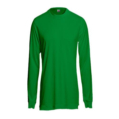 Grasgrünes Sweatshirt aus Mischgewebe