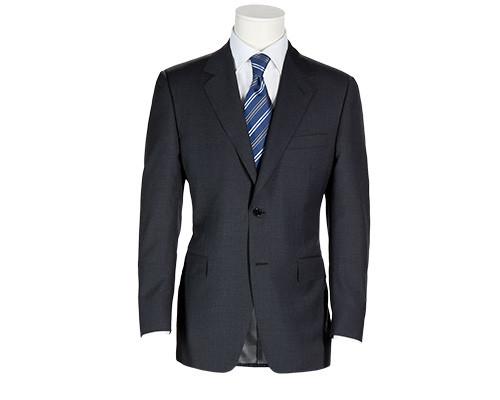 Einfarbiger Business-Anzug der Marke Bäumler