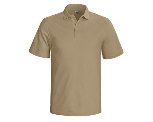 Kurzarm-Poloshirt - Farbe Cappuccino