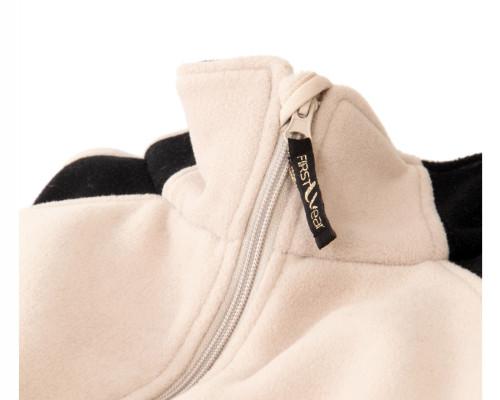 Fleece-Jacke aus Mischgewebe